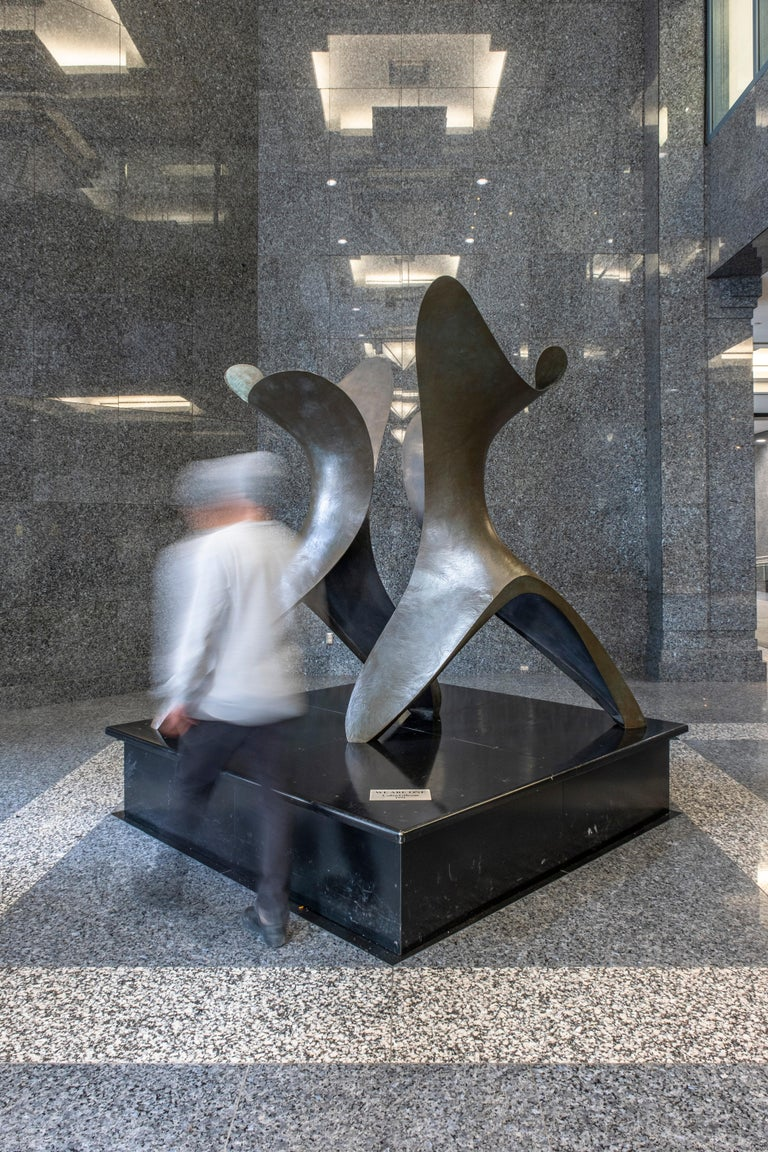 We Are One - Large, abstract, bronze, sculpture For Sale 3
