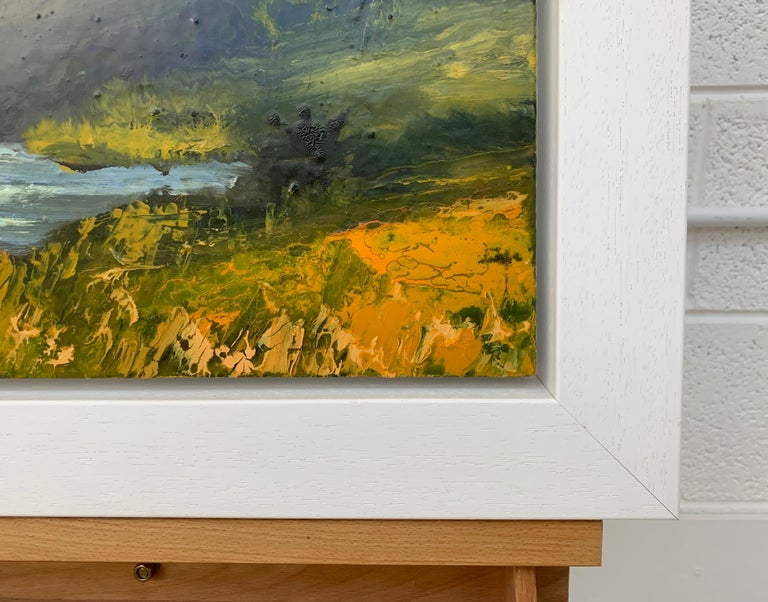 Impasto Oil Painting of the English Lake District by British Landscape Artist For Sale 2