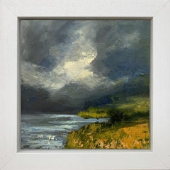 Impasto Oil Painting of the English Lake District by British Landscape Artist