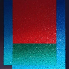 Modus 1 - Colourful Geometric Abstraction: Oil on Canvas