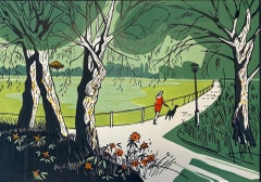 Colin Moore, Hampstead Pond, Limited Edition Print, Art Online, Contemporary Art