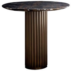 Colisee Bronze Side Table
