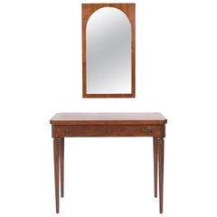 Coliseum Mirror and Console Table by T.H. Robsjohn Gibbings