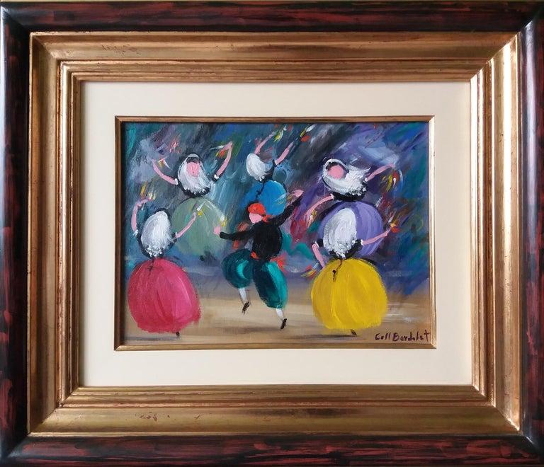 BOLERO. original expressionist acrylic painting - Painting by Coll Bardolet