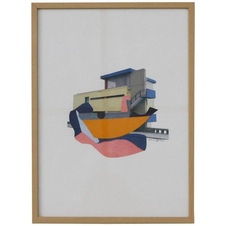 Dutch Collage by Brian de Graft For Sale