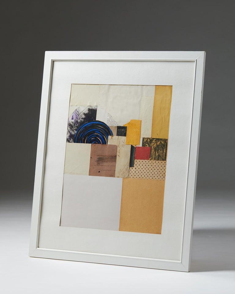 Modern Collage Designed by Torsten Hylander, Sweden, 1980s For Sale