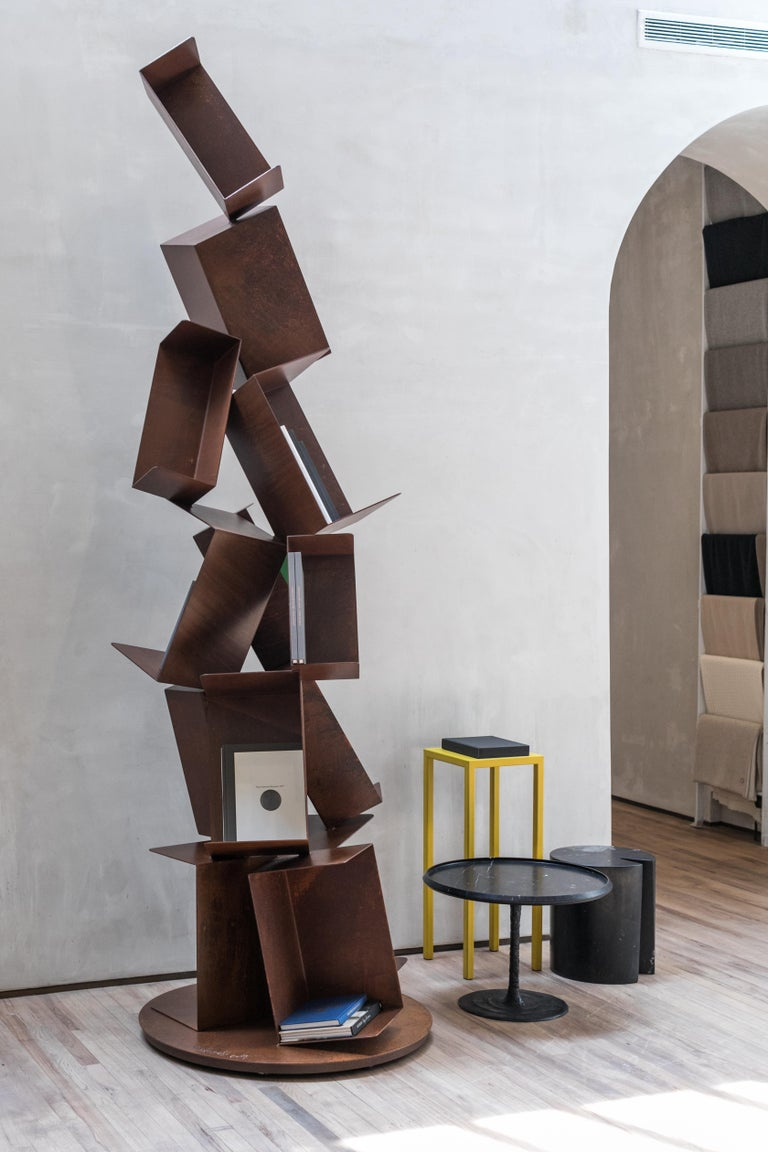 Collapse Bookcase Small by Gianluca Pacchioni In New Condition For Sale In New York, NY