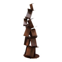 Collapse Bookcase Small by Gianluca Pacchioni