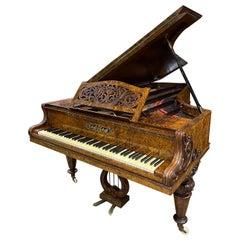 Collard & Collard Artcase Romantic Concert Grand Rococo Louis XV Amboina