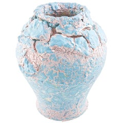 Collectible Vase Hand Painted Coralla Maiuri Modern New Decoration