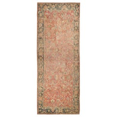 Collectible 17th Century Persian Esfahan Rug. Size: 11 ft 4 in x 30 ft