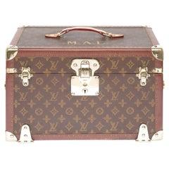Collectible Louis Vuitton Cabin Vanity Case in monogram Canvas