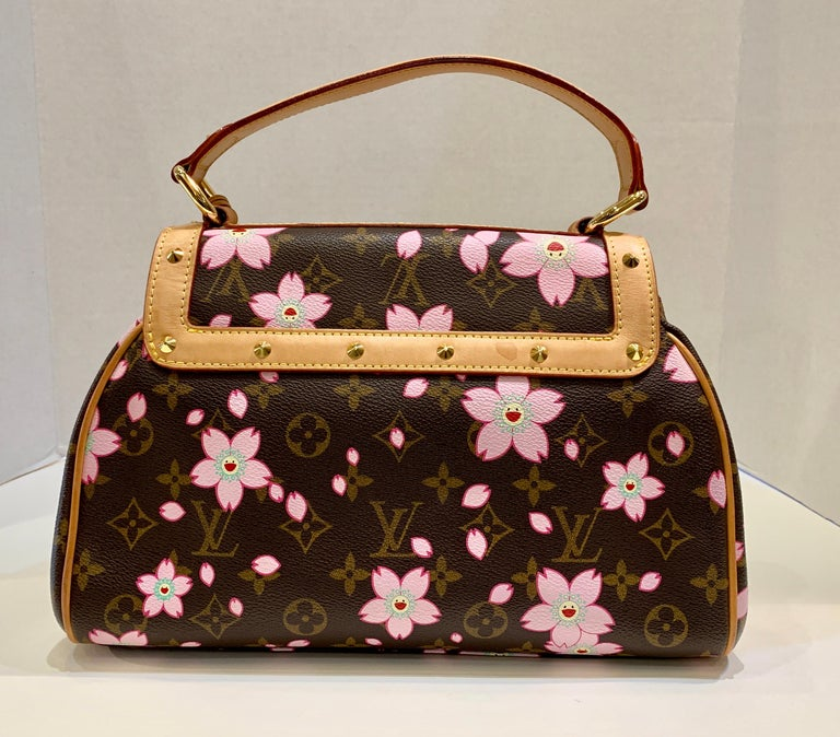 cd5b91b9d4 Rare collectible retro Louis Vuitton limited edition Cherry Blossom purse  or satchel or handbag from the