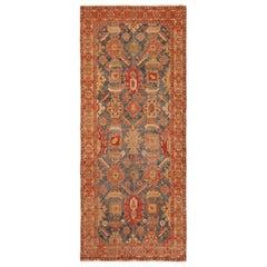Collectible Rare Antique 17th Century Caucasian Karabagh Rug