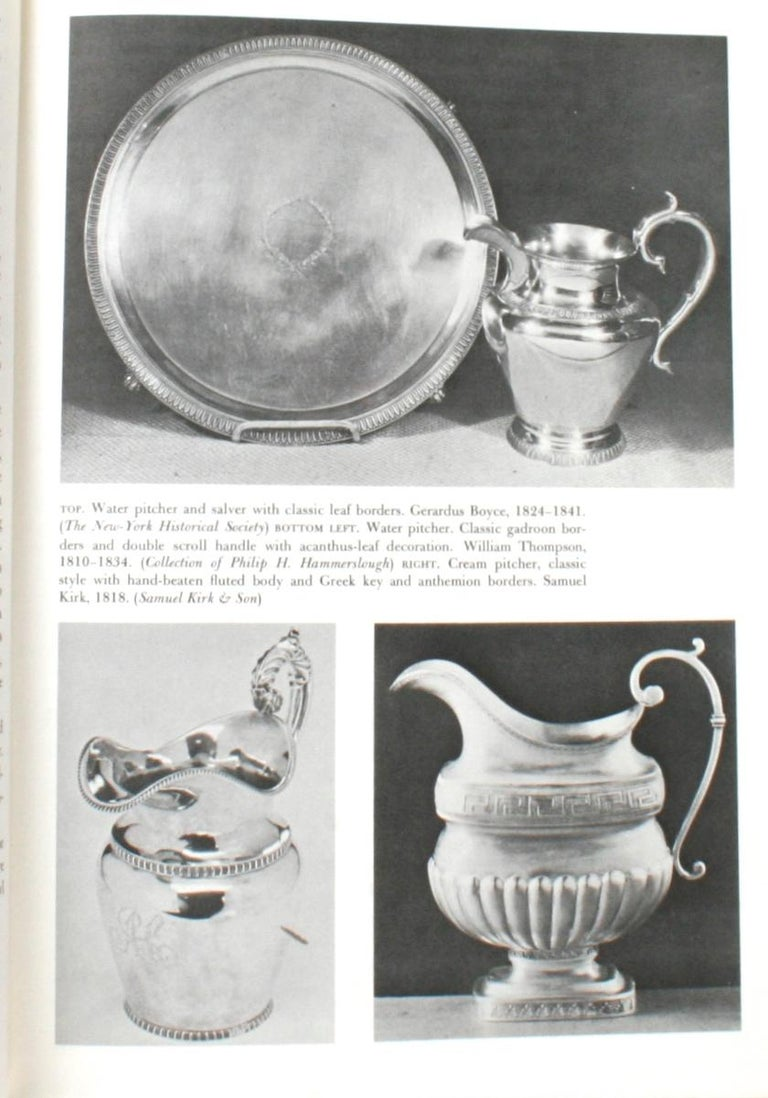 Paper Collecting American 19th Century Silver by Katherine Morrison McClinton For Sale