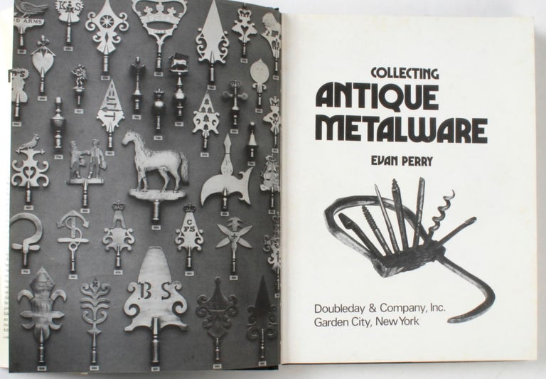 American Collecting Antique Metalware by Evan Perry For Sale