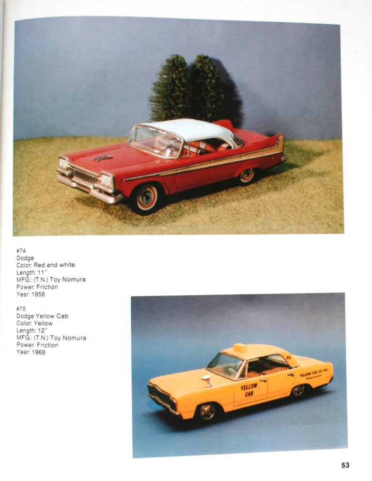 Collecting the Tin Toy Car, 1950-1970 by Dale Kelley, 1st Edition For Sale 6