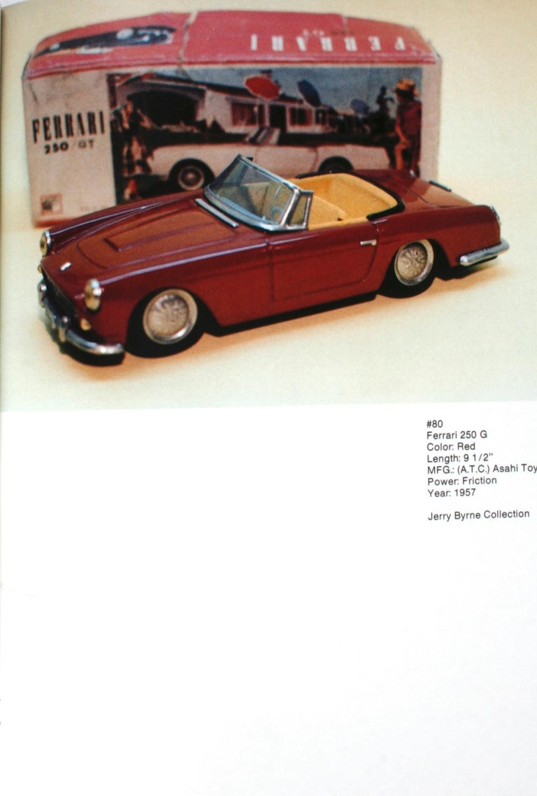 Collecting the Tin Toy Car, 1950-1970 by Dale Kelley, 1st Edition For Sale 8