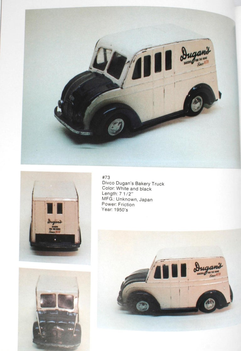 Late 20th Century Collecting the Tin Toy Car, 1950-1970 by Dale Kelley, 1st Edition For Sale