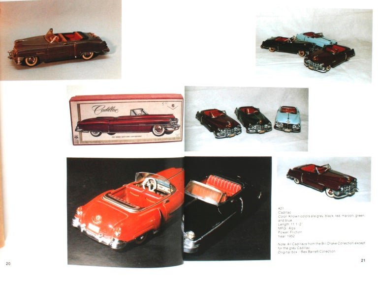 Collecting the Tin Toy Car, 1950-1970 by Dale Kelley, 1st Edition For Sale 2