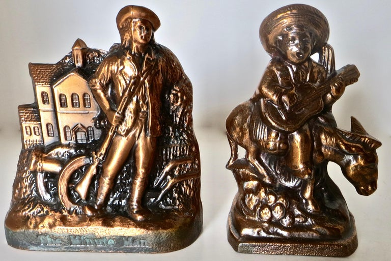 Collection '10' Banthrico and Metal Banks Western/Americana Theme. Ca. 1950's-70 For Sale 3