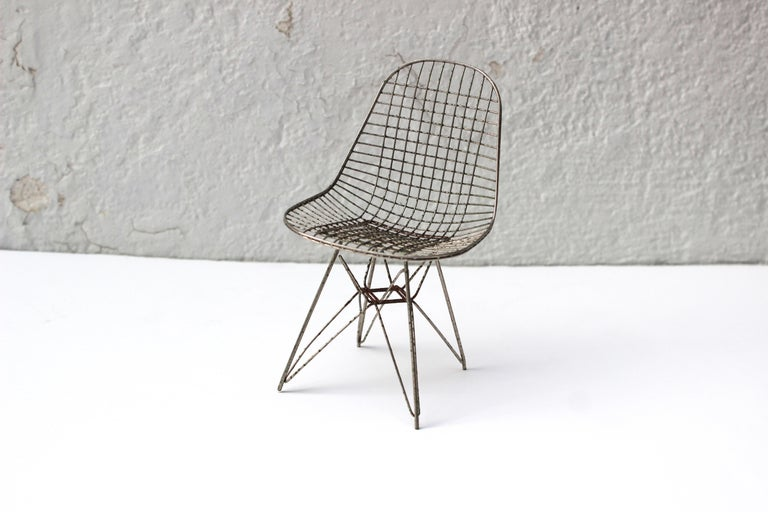 Collection Of 12 Vitra Miniature Chairs At 1stdibs