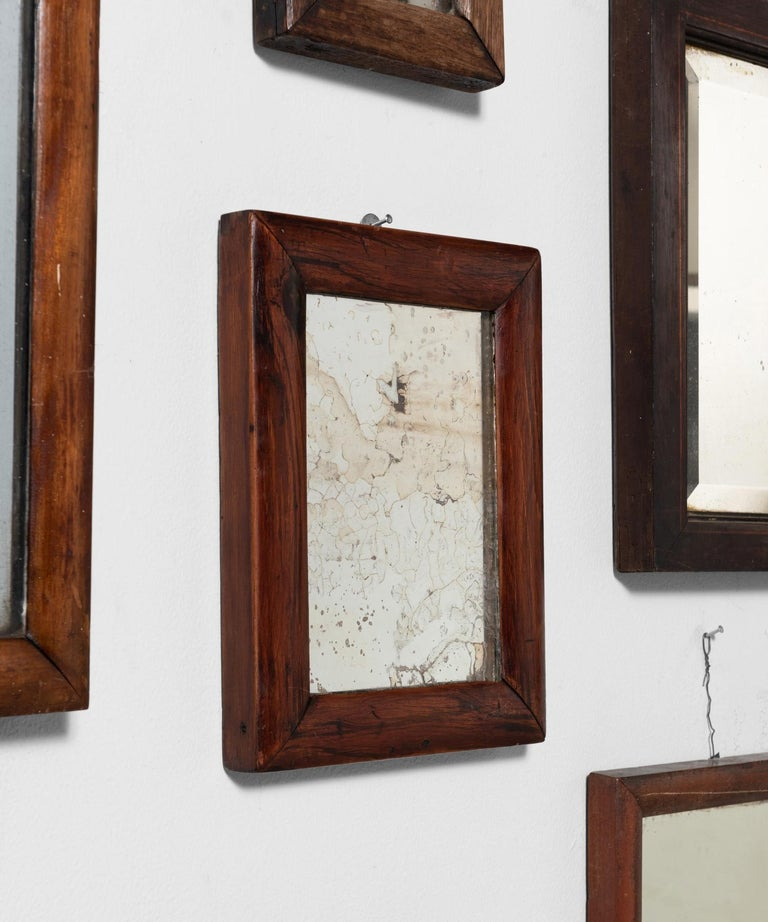 English Collection of '13' Shaving Mirrors