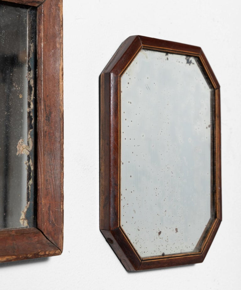 19th Century Collection of '13' Shaving Mirrors