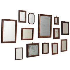 Collection of '13' Shaving Mirrors