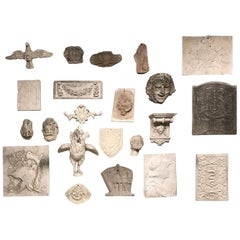 Collection of 19th Century Plaster Work