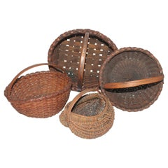 Collection of 19th Century Baskets