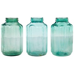 Collection of 3 Early 20th Century Cucumber Jars