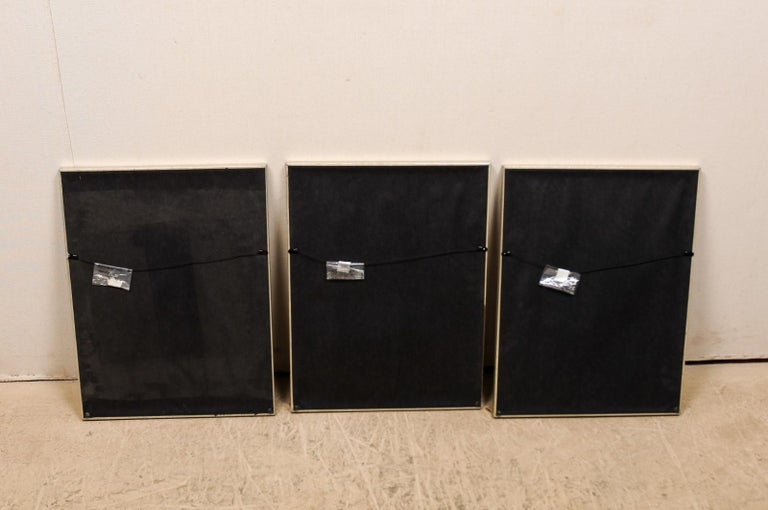 Collection of 3 Framed 18th Century Bernard Direx Geometric Renderings For Sale 5