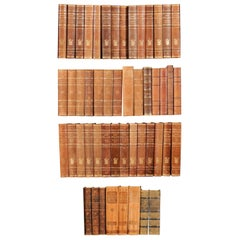 Collection of 50 Antique Swedish Books, circa 1920s