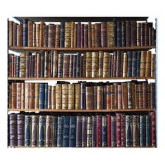 Collection of Antique Leather Bound Books 50+ Linear Feet