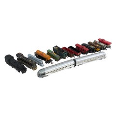 Collection of Antique Trains