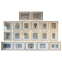 Collection of Architectural Drawings