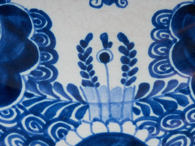 Collection of Delft Blue Hand Painted Ceramics In Good Condition For Sale In Leuven , BE