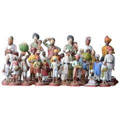 Collection of Early 20th Century Clay Figures
