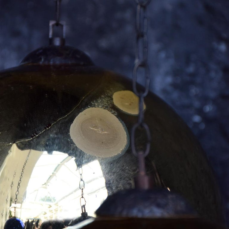 Collection of Early 20th Century Mercury Glass Witches' Balls In Good Condition In London, GB