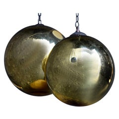 Collection of Early 20th Century Mercury Glass Witches' Balls