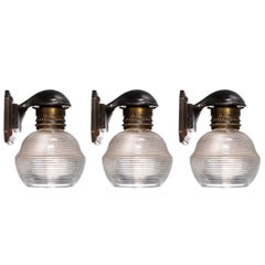 Collection of Early Railroad Sconces