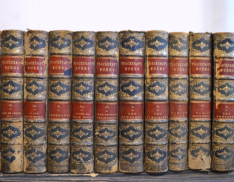 Collection of English Leather Bound Works by William M. Thackray, Series 209 For Sale 2
