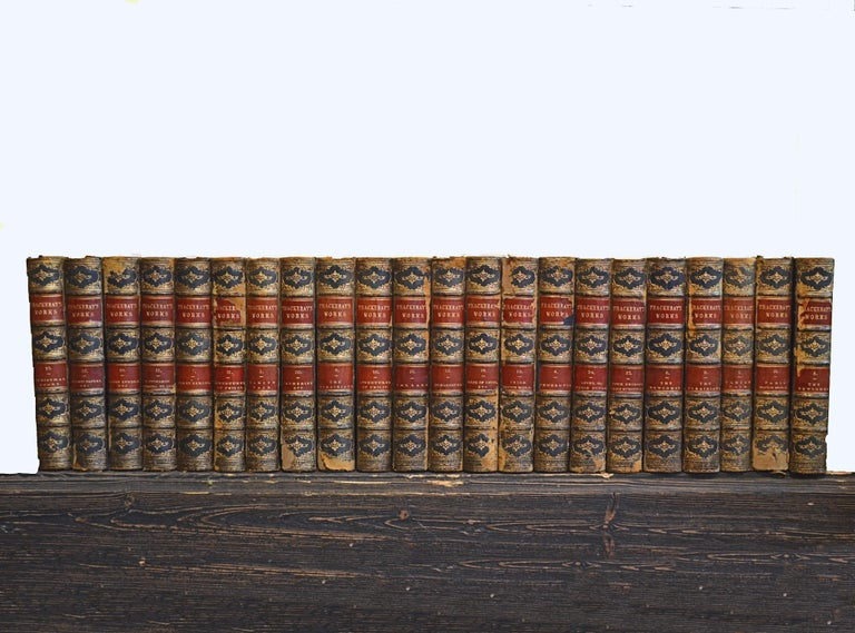 Collection of English Leather Bound Works by William M. Thackray, Series 209 For Sale 3
