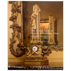 Collection of Evelyn Annenberg Hall, 640 Park Ave Christie's, NY, 2006, 1st Ed