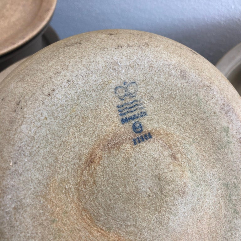 Collection of Firepot from Royal Copenhagen In Good Condition For Sale In Copenhagen, DK