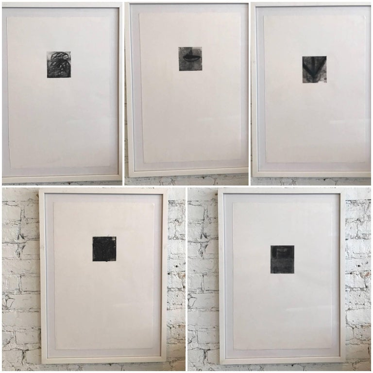 Collection of Two Drawings by Dave Zarick For Sale 1