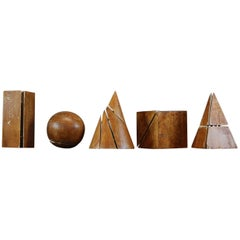 Collection of Five Geometric Forms