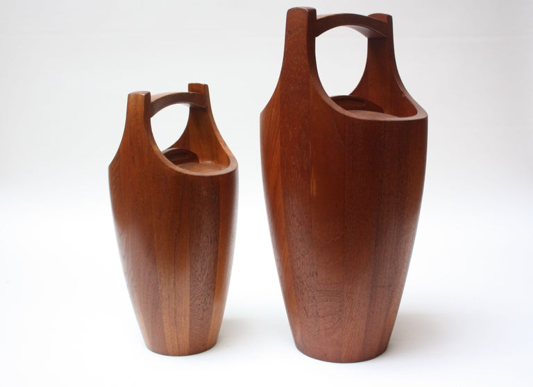 Collection of Five Staved Teak 'Congo' Ice Buckets by Jens Quistgaaard for Dansk For Sale 2
