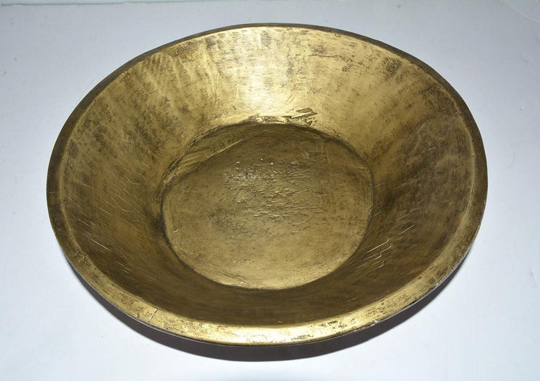 Collection of Gold Giltwood Serving Bowls For Sale 2